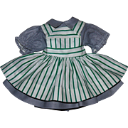 Ideal Harriet Hubbard Ayer Doll Dress and Pinafore 1950s