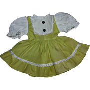 "Valentine ""Beat the Clock"" Doll Dress 1952"