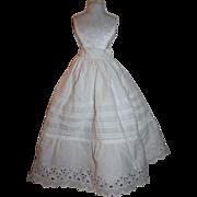 SOLD Antique Doll Slip for Bisque Dolls 1890