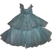 Two Piece Silk Tulle Dress for Composition Dolls 1920