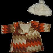 Original Effanbee Patricia Doll Coat1930s