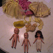 Early Story Book Dolls for Parts