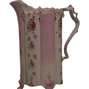 Lovely Old Pitcher, Ribbons and Roses