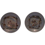 Beautiful French Limoges Putti Plates