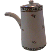 Lovely Vintage English Teapot with extended handle Maddox and Sons