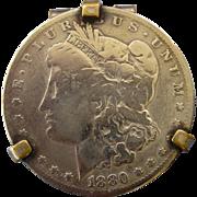 SOLD Morgan Silver Dollar Money Clip