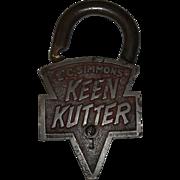 Old Keen Kutter Padlock
