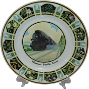 MOPAC State Flowers Service Plate-Texas