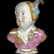 Meissen Kinderbust; Prince Louis Charles de Bourbon