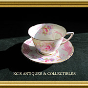 Royal Doulton 'Old Chelsea' Rose Flower Cup & Saucer
