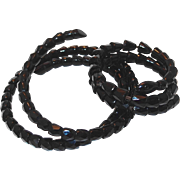 SALE 1800s Whitby Jet Snake Necklace and Bracelet in our Year End Sale