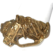 SALE Year End BLOWOUT SALE Includes This Artisan Made Equine Horse Ring, Size 9.25