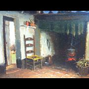 Hendrik Jan Neuland Oil on  Panel