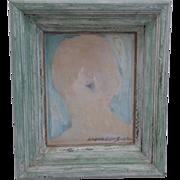 "SALE Hiram Williams ""Portrait Study"" 1971"