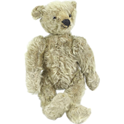 Small Vintage Mohair Teddy Bear, Probably German
