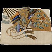 Vintage Japanese Deco Clutch Purse