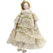 Antique Small bisque Doll As Is