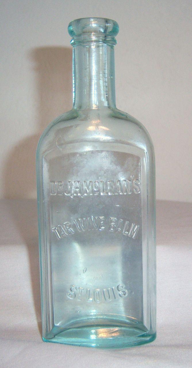 McLean's Tarwine Balm Bottle in Light Green