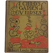 "1916 Printing ""A Child's Garden of Verses"" by Robert Louis Stevenson"