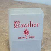 Cavalier Plastic Cigarette Protector Case by Tupper Corp.1960's