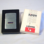SOLD ZIPPO FIAT Automobile Advertiser with Applied Logo 1976
