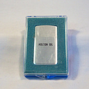 PARK LIGHTERS Advertising Holton Oil NIB 1950's