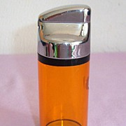 REDUCED Ritepoint Table Liter-Clear Amber-Circa Late 1940's