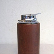 Ronson VARAFLAME Wooden Table Lighter St. Louis Collie Club 1964