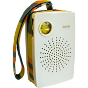 Colorful RCA AM Transistor Pocket Radio 1960's
