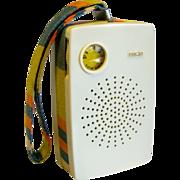 Colorful RCA AM Transistor Pocket Radio 1960's