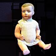 Heubach Bisque Head Pouty Boy Doll
