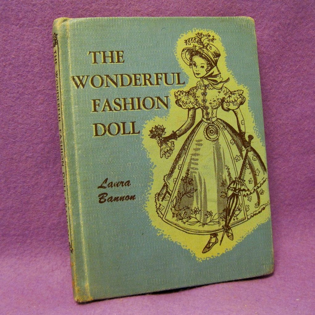 Rare book, The Wonderful Fashion Doll