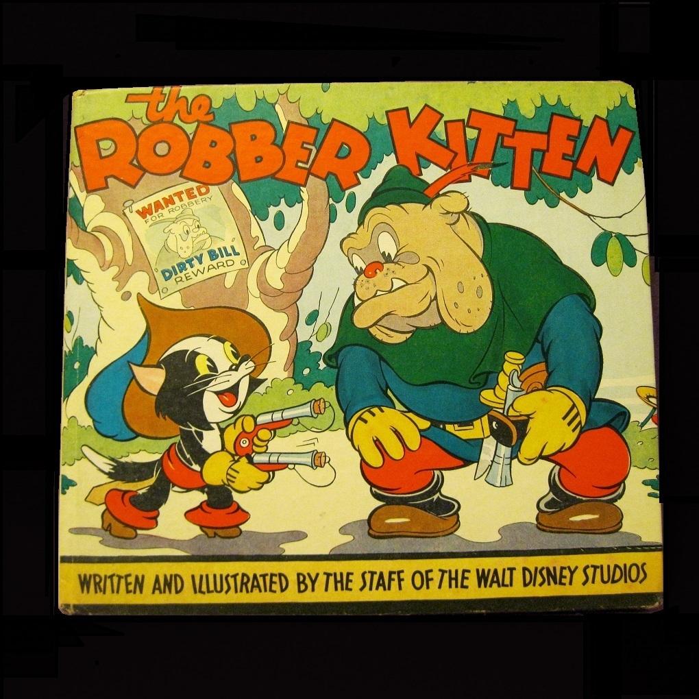 Rare Disney book, Robber Kitten