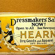 SOLD Vintage Art Deco Dressmaker's Sign