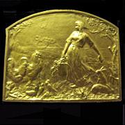 Vintage French Gold Medal
