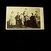 Grant and Family Original 1860s CDV