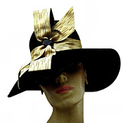 Imported Fur Lady's Vintage Hat in High Style