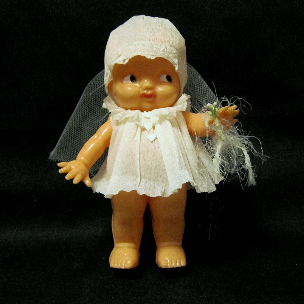 Here Comes the Irwin Bride Doll, 1950s