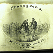 Bound Collection of Antique Sheet Music, 1865