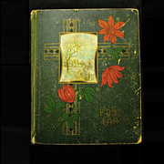 Early 1900s Postcard Album, 102 Postcards