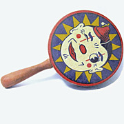 Old Kirchhof Clown Noisemaker, Made in New Jersey, USA