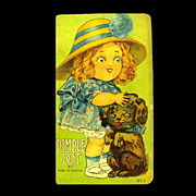 'Story of Dimple Dot', A Googly Eyed Girl & her Dog, 1916