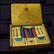 Architectural Wood Building Blocks, Original Box