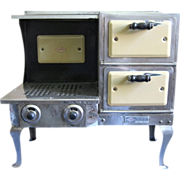 Working Salesman's Sample/Children's Toy Empire Range with Two Ovens