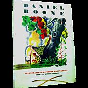 1945 Harper & Row 'Daniel Boone', Illustrator Feodor Rojankovsky