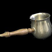 Side Handle International Pewter Posset Pot