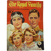 """1937 """"The Royal Family Coronation Yearbook"""" of King George VI"""