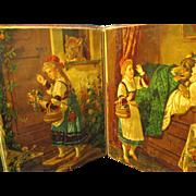 A Plethora of Victorian Ephemera in 1870's Antique Scrap Book