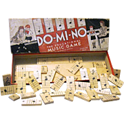 DO-MI-NO, The Educational Music Game, 1934