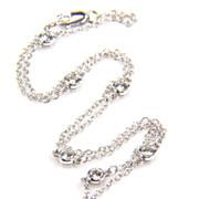 SALE Diamond Yard White Gold- Diamond by the Yard - 1 carat Diamond Necklace - Diamond Necklace - Station Necklace